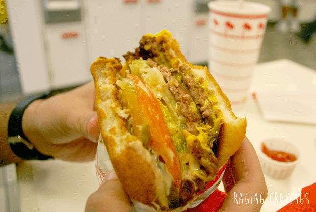 Cheeseburger from In-N-Out